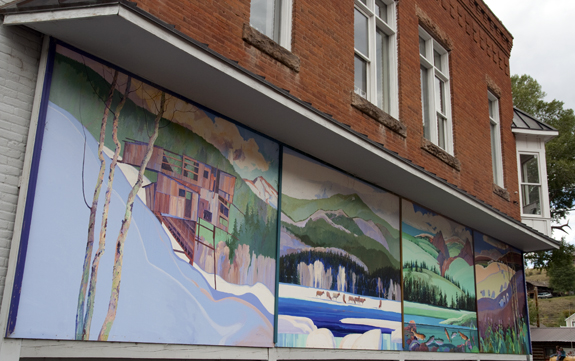 """Wall Art in Creede"" - Copyright 2012 Todd Littleton"