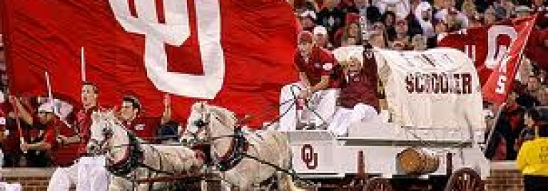 The Media Thought OU Would Ride In On a Scooter – Instead It Was A Schooner